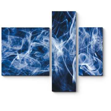 Модульная картина Сквозь дым