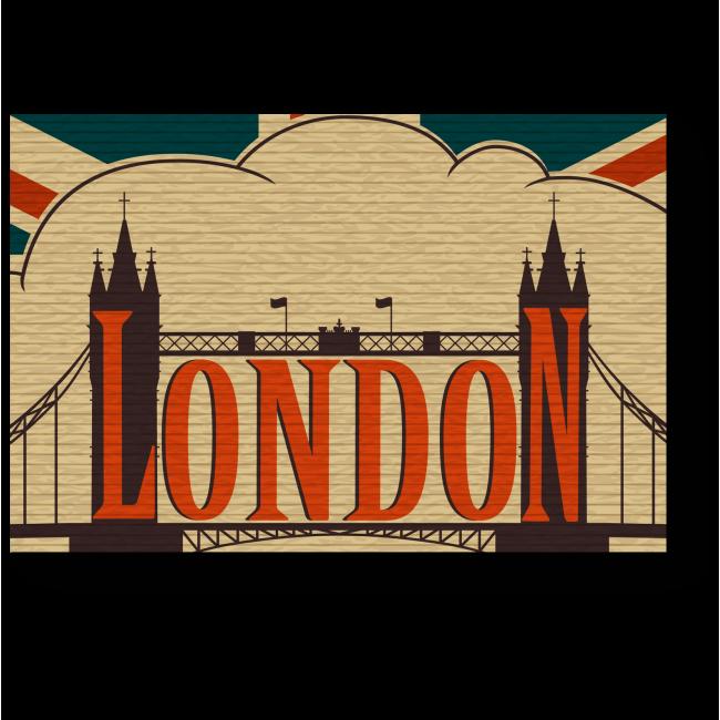 Модульная картина Привет из Лондона