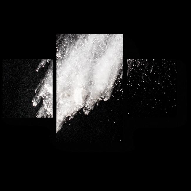 Модульная картина Взрыв