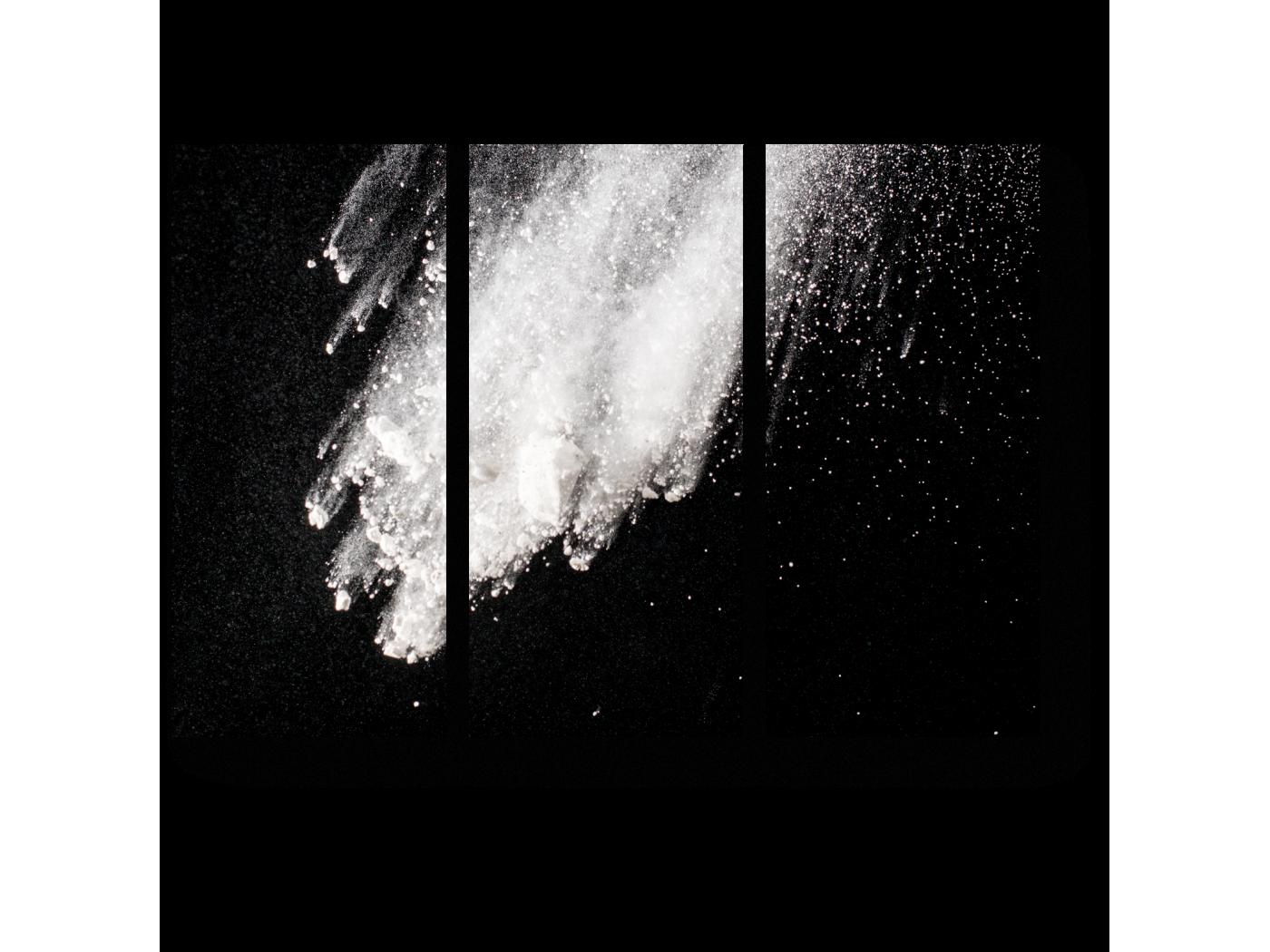 Модульная картина Взрыв (60x43) фото
