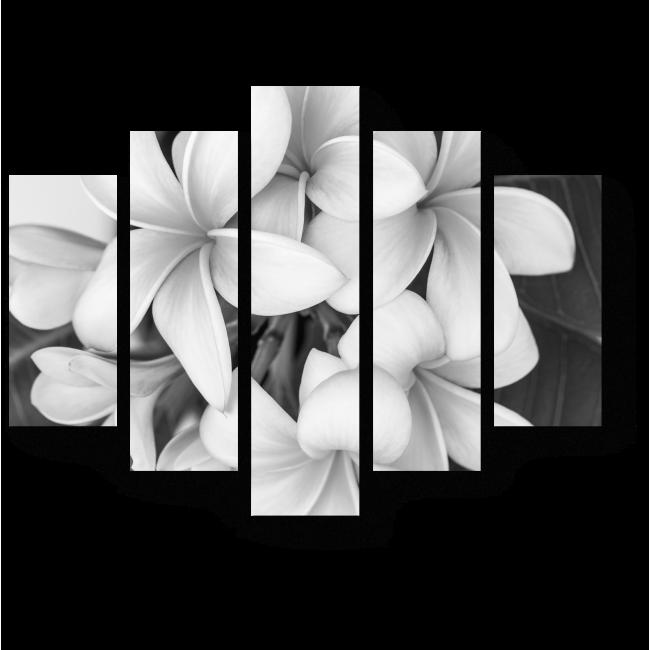 Модульная картина Аромат белых цветов