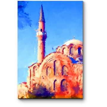 Модульная картина Жаркий Стамбул маслом