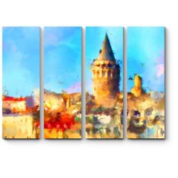 Модульная картина Жаркий полдень в Стамбуле