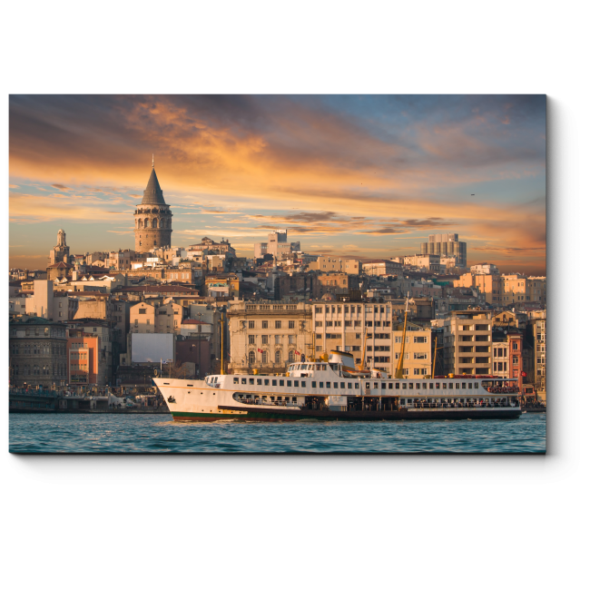 Модульная картина У берегов Стамбула