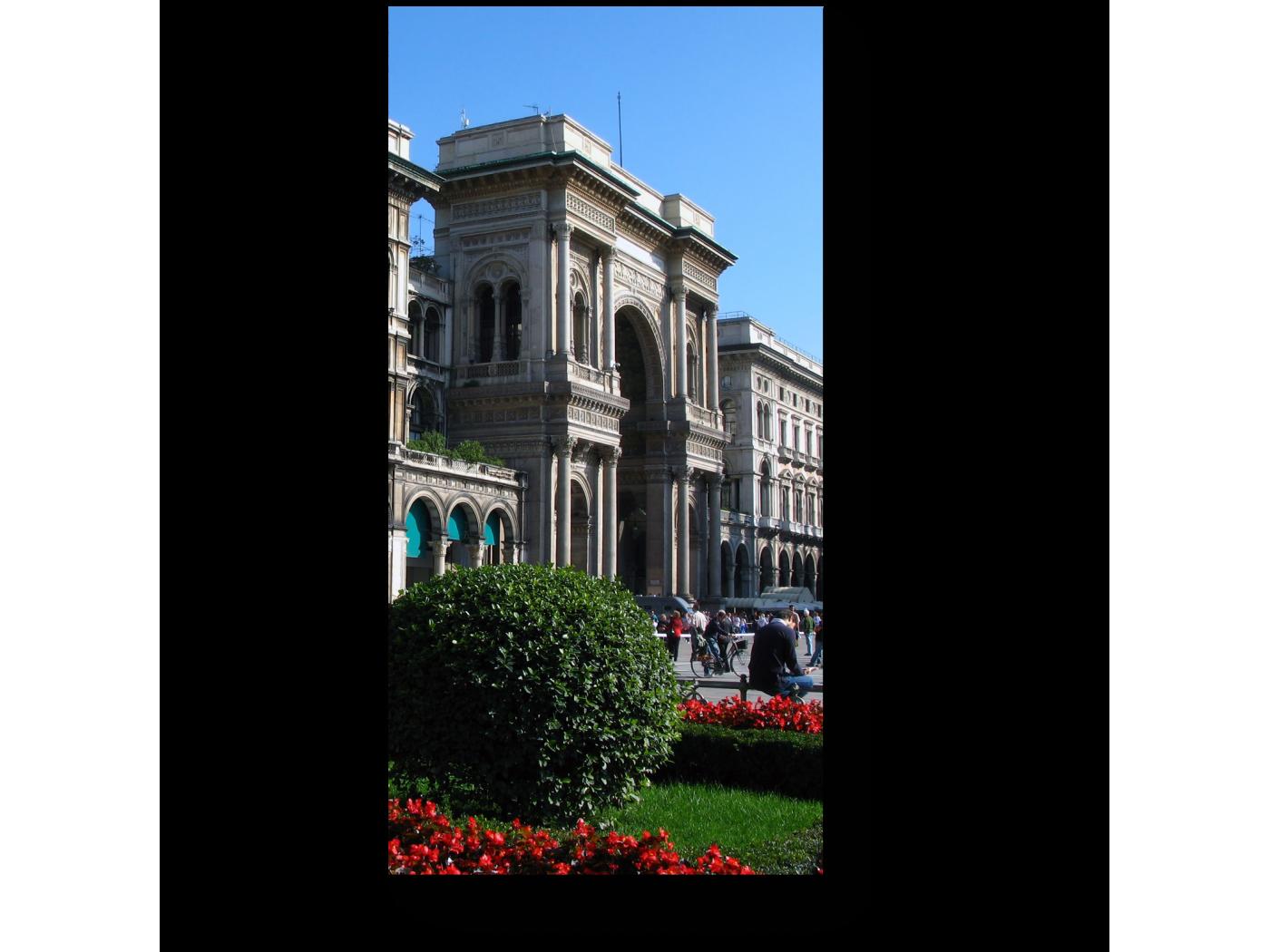 Модульная картина Соборная Площадь, Милан (20x40) фото