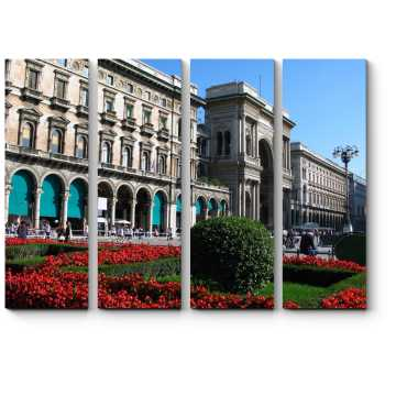 Модульная картина Соборная Площадь, Милан