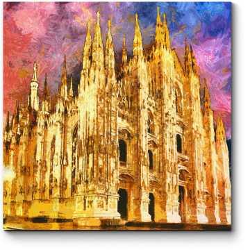 Вечерние краски Милана