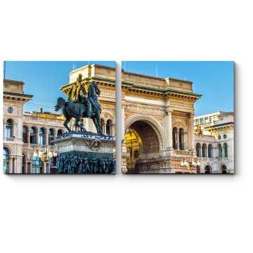 Знаменитая Галерея Витторио Эмануеле, Милан