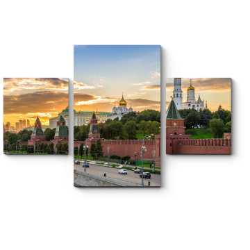 Закат в самом сердце Москвы