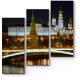 Ночный Кремль в отражении Москвы-реки