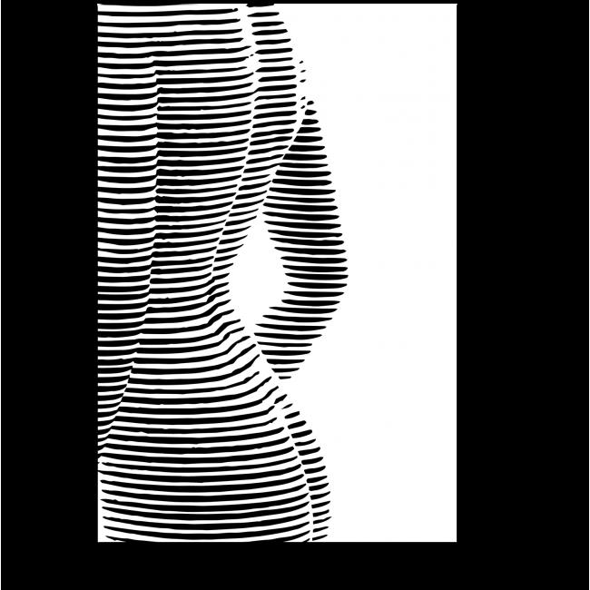 Модульная картина Силуэт