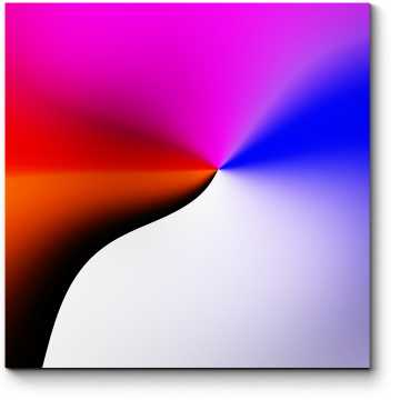 Модульная картина Спектр #15