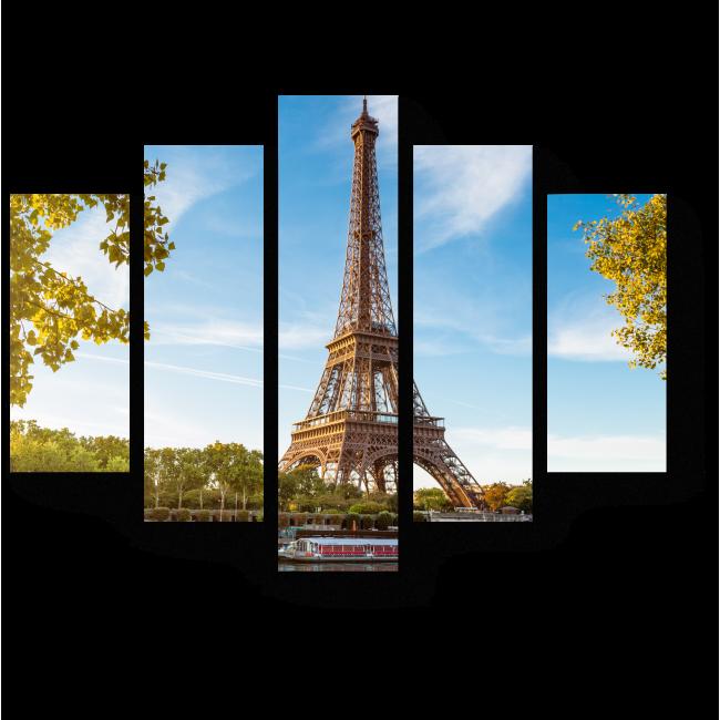 Модульная картина Ах, Париж, Париж