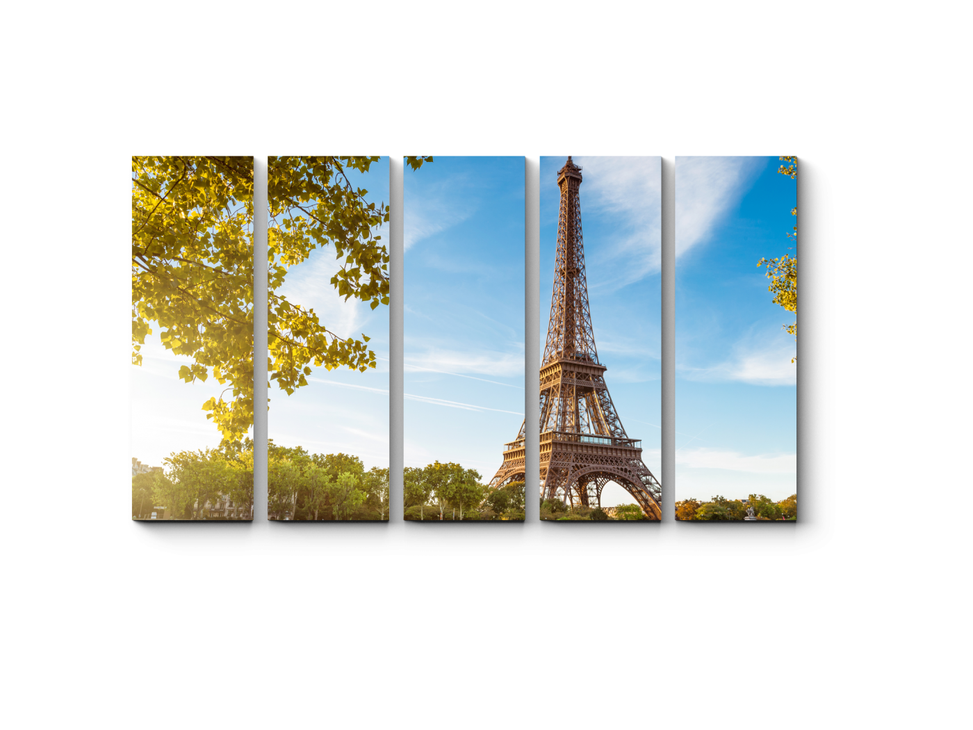 Модульная картина Ах, Париж, Париж (90x54) фото