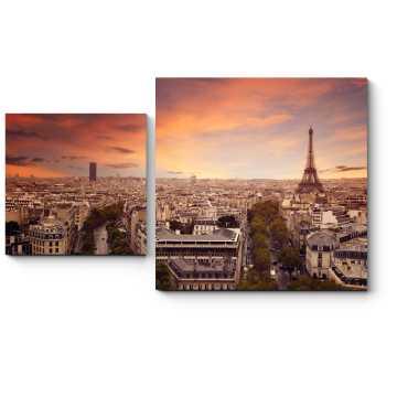 Прекрасный Париж с высоты