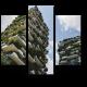 Вертикальный лес на миланских домах