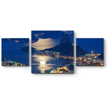 Модульная картина Великолепный Рио-де-Жанейро