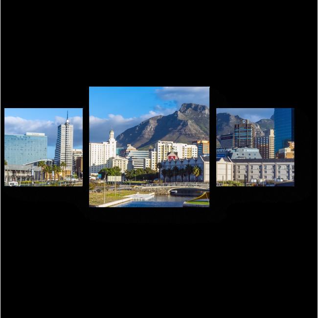 Модульная картина Весенний Кейптаун