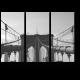 Линии черно-белого моста