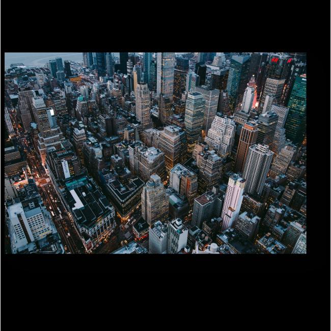 Модульная картина Прекрасный вид на мегаполис