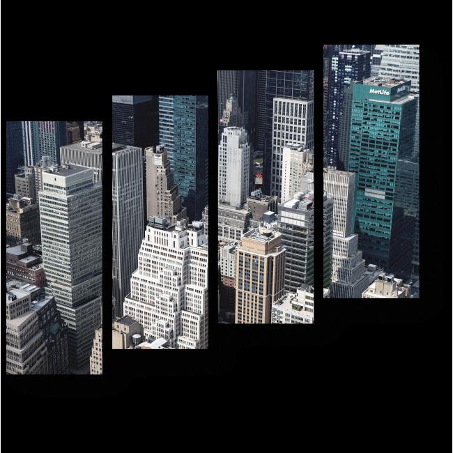 Модульная картина Современный Нью-Йорк