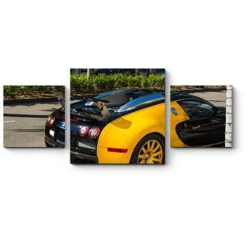 Модульная картина Bugatti Veyron
