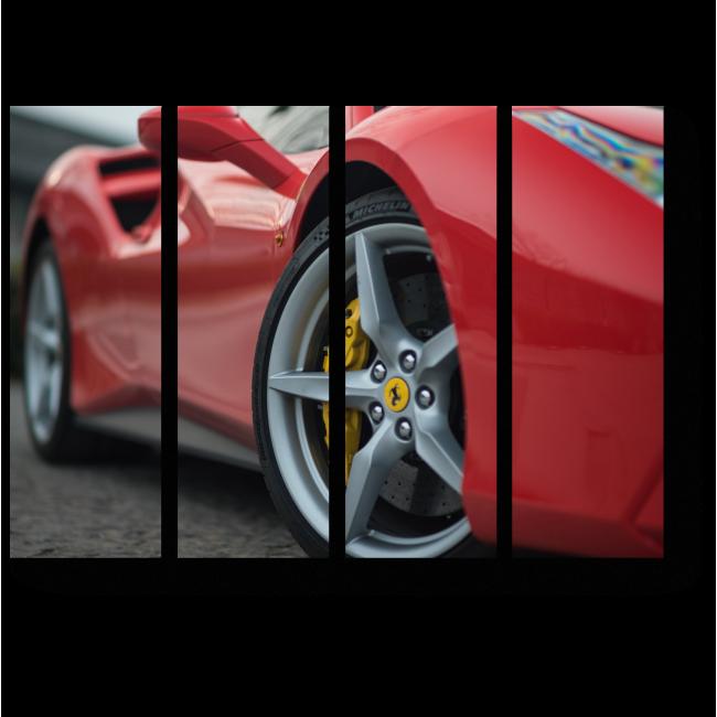 Модульная картина Ferrari 488 GTB