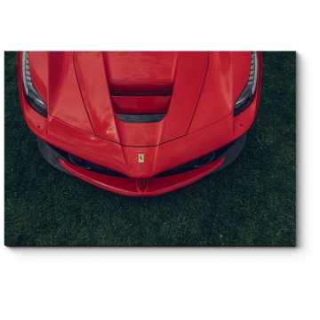 Модульная картина Капот Ferrari LaFerrari