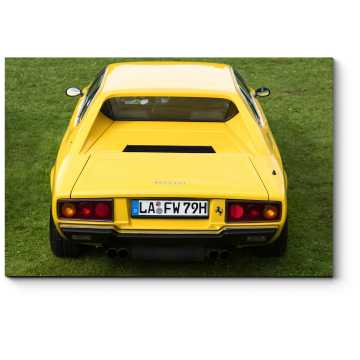 Модульная картина Ferrari Dino 308 GT4 Классический спортивный автомобиль
