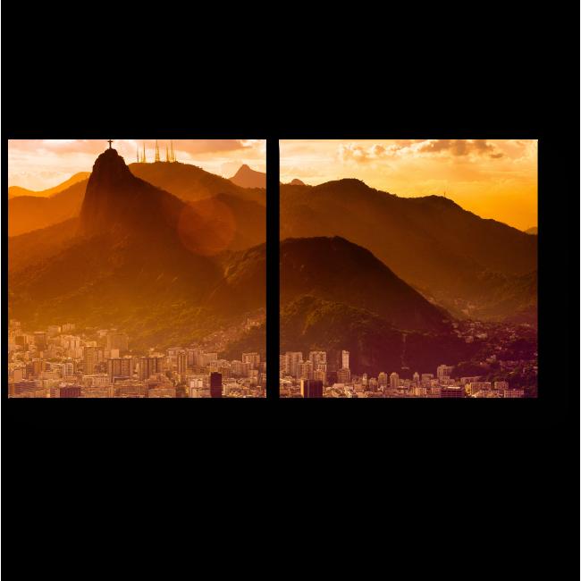 Модульная картина Чудесный Рио-де-Жанейро