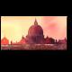 Очаровательная панорама Рима