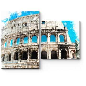 Солнечный Колизей, Рим