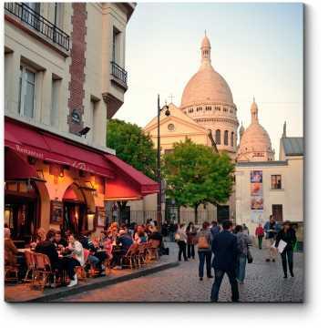 Модульная картина Улица в Париже