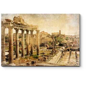 Римский форум, фото в ретро стиле