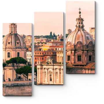 С высоты Римских крыш