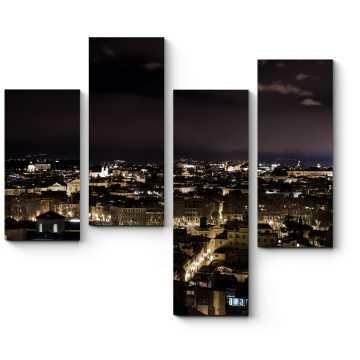 Ночная панорама Рима