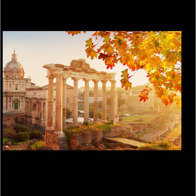 Модульная картина Римский Форум на рассвете