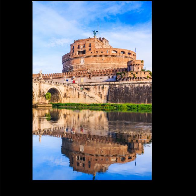 Модульная картина Замок Святого Ангела,Рим