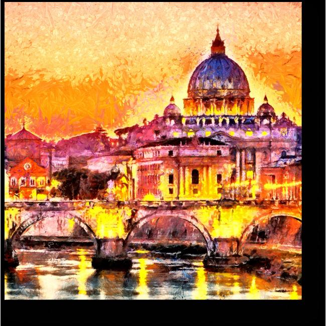 Модульная картина Собор Святого Петра
