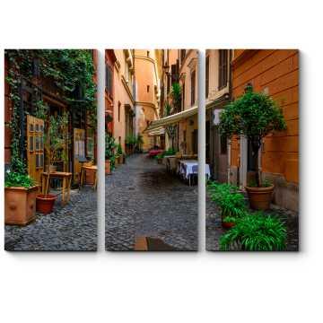 Уютная улочка где-то в Риме
