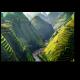 Вьетнамские рисовые поля в горах