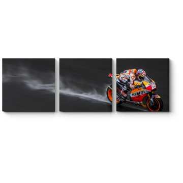 Гонщик команды Repsol Honda