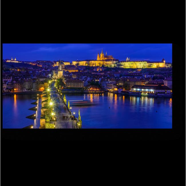Модульная картина Злата Прага