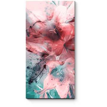 Букет из художественных лилий