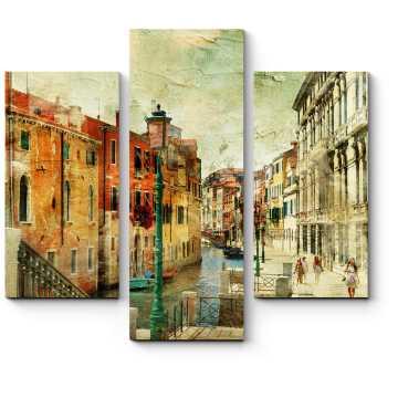 Модульная картина Романтическая Венеция