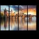 Карлов мост и спокойная Влтава, Прага