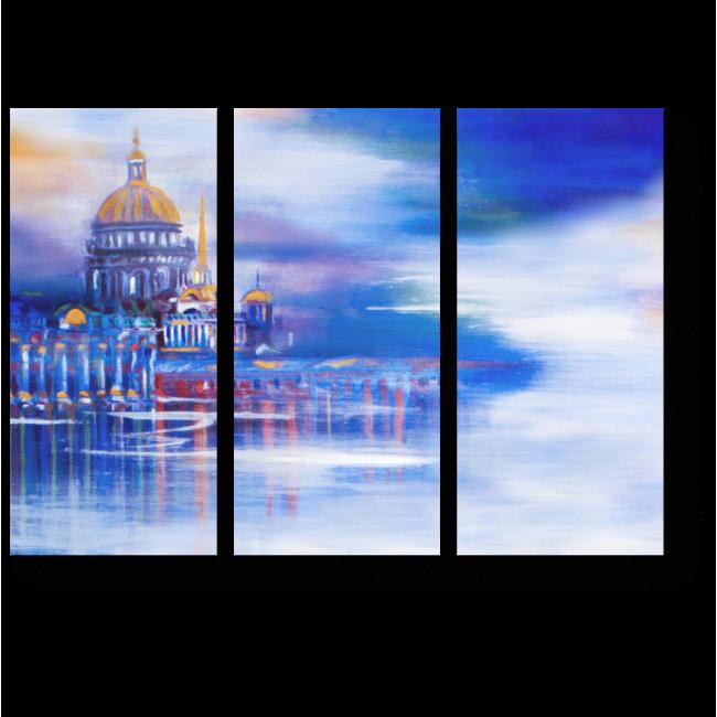 Модульная картина Величественный Санкт-Петербург