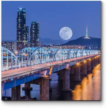 Лунная ночь в Сеуле