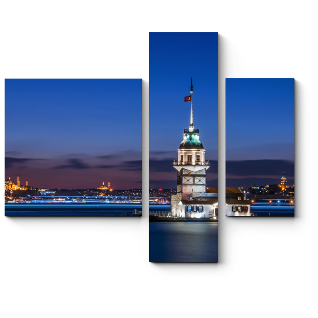 Модульная картина Невероятный Стамбул