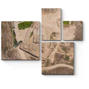 Модульная картина Пустынная область